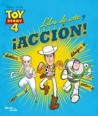 Toy Story 4. Libro de arte y ¡acción!